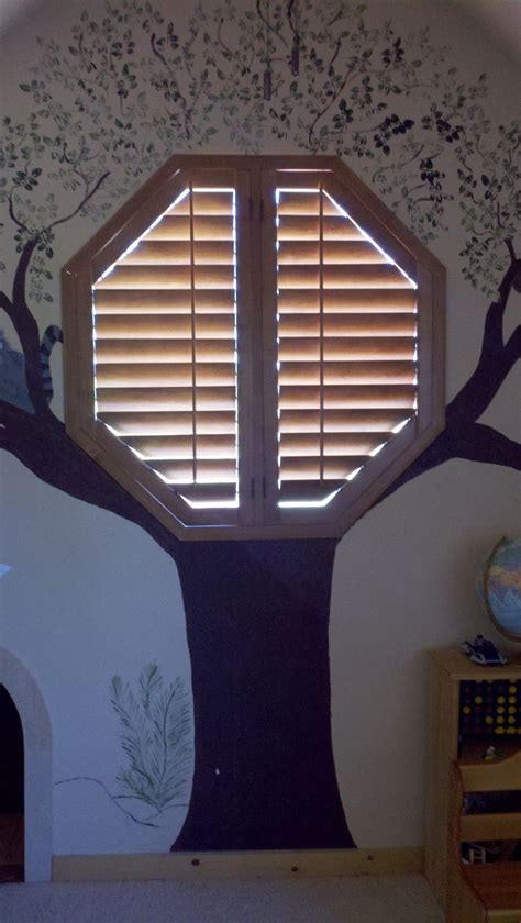 octagon window curtains blinds for odd shaped windows circle oval octagon