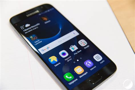 When Android 8 For S7 Edge by Samsung Galaxy S7 Et S7 Edge Une Seconde Vague D