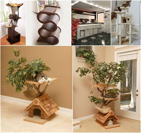 stylish cat tree banish the ugly beige carpet check out cool cat trees cool cat tree furniture designs your cat