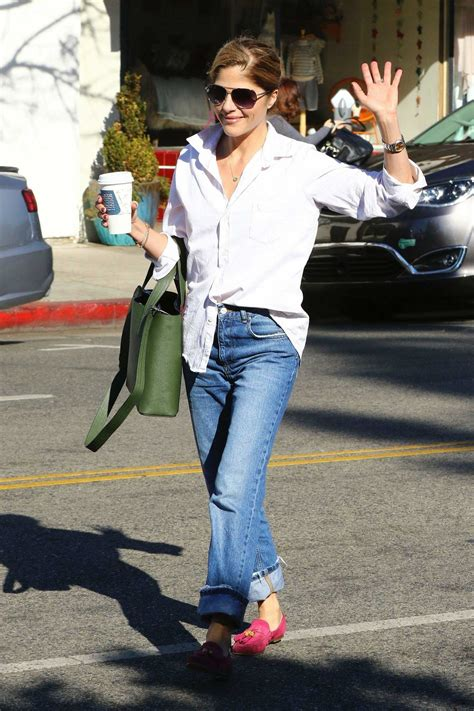 The New On The Gap Block Selma Blair And Mayer by Selma Blair Makes A Coffee Pit Stop At Alfred S In Studio