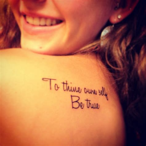 to thine own self be true tattoo to thine own self be true my tattoos