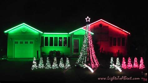 christmas lights to music box dancer 2012 youtube