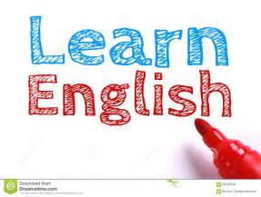 learn english stock photo image 58506449