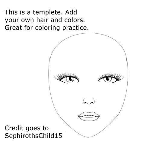 templates for face painting face painting face template face template by