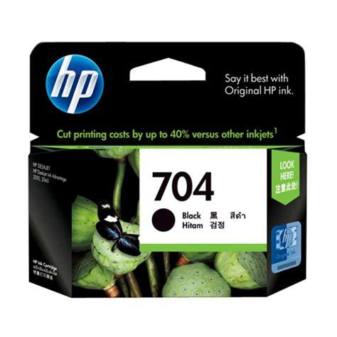 Tinta Hp 704 Black Calor Original jual hp 704 black ink cartridge tinta printer
