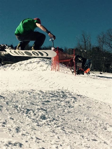 Kickers Mountain 3 great kickers and features at appalachian terrain park