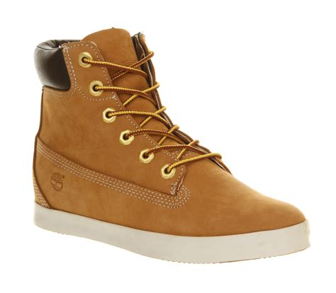 timberland shoes timberland glastenbury 6 inch boots in brown wheat lyst