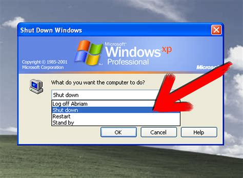 shut  windows xp  steps  pictures wikihow