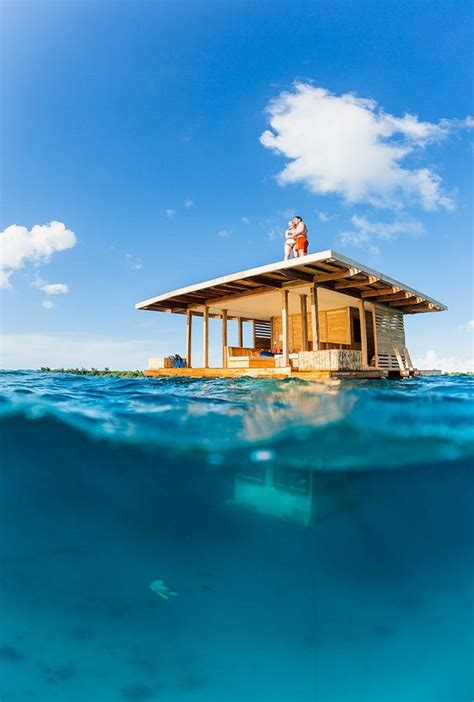 images about tiny house communities on floating partially underwater tiny floating house with deck