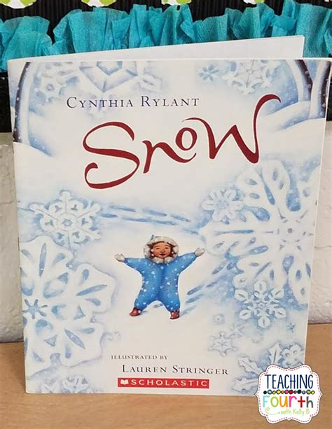 snowflake bentley book teaching fourth snowflake themed reading lesson