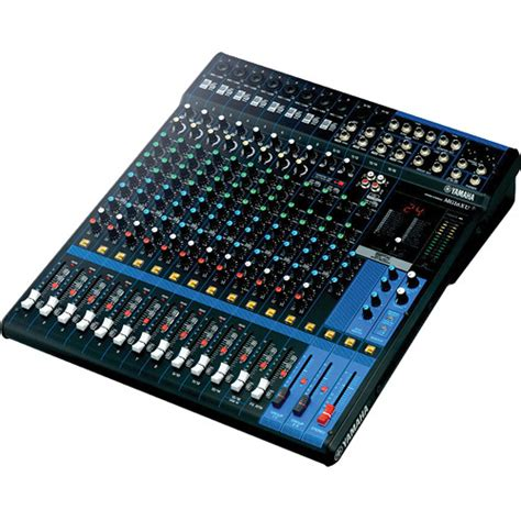 Mixer Yamaha Mg166cx Usb 10 Input Mic 2 Stereo Used Yamaha Mg16xu 16 Input Mixer With Built In Fx And Mg16xu