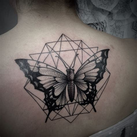 Tattoo Butterfly Geometric | 25 awesome geometric tattoo art images gallery