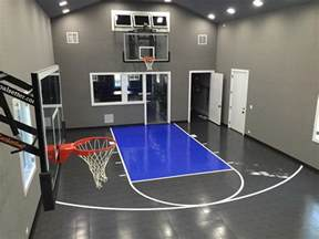 Considering A Home Gym From Sport Court Sport Court Home Basketball Court Design