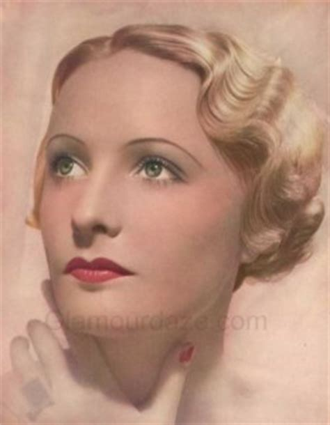 hair history in the 1930s eyeshadow placement 20s 80s and absence of browbone
