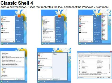 Classic Shelf by Classic Shell 4 2 0 Beta Released With Support For Windows