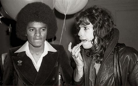 Celana Aerosmith 20 awesome photos of michael jackson hanging out with his friends vintage everyday