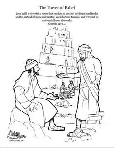 tower of babel coloring page tower of babel coloring page script and bible story