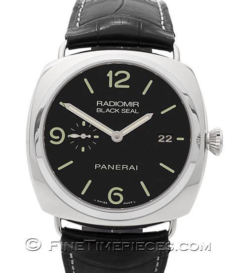 black seal series officine panerai radiomir black seal 3 days automatic p