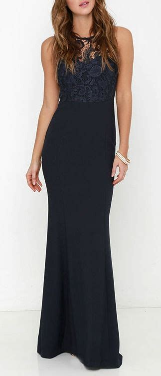 Ll Dress Fara Navy oak and elm navy blue lace maxi dress beautiful lace and maxi skirts