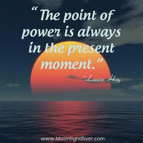 moment in the word daily moments that feed your soul books the point of power is always in the present moment
