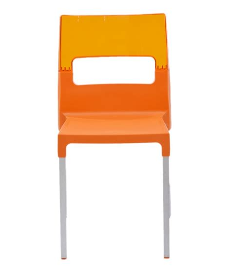 Supreme Chairs by Supreme Chair Set Of 4 Orange Light Orange