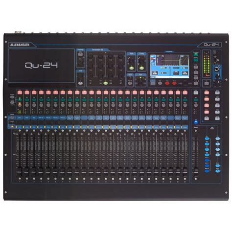 Mixer Allen Heath Qu 24 mixer digital allen heath qu 24