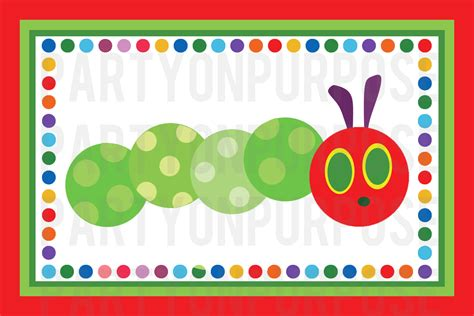 printable version of the very hungry caterpillar 5 best images of hungry caterpillar party free printables