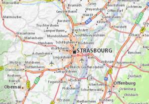 map of strasbourg michelin strasbourg map viamichelin