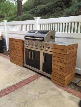 the basic facts of how to make patio furniture out of wood pallets patio furniture outdoor diy grill tables make a standard grill look built in like a custom outdoor kitchen outdoor