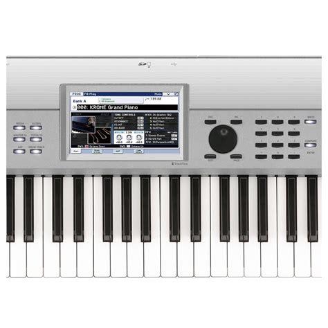 Keyboard Korg Krome 73 korg krome 73 73 key workstation platinum at