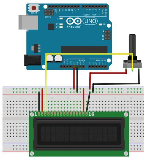 arduino code with lcd how to connect an lcd display to your arduino diy hacking