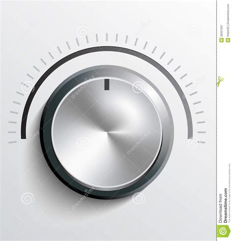 Knob Clipart by Volume Knob Royalty Free Stock Photography Image 32501567