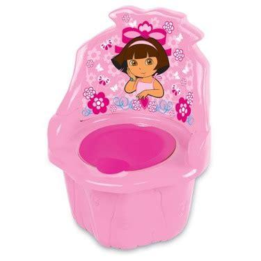 dora the explorer toddler desk chair girls pink bedroom dora the explorer 3 in 1 potty chair pink reviews in