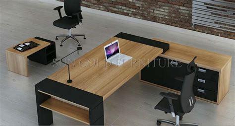 modern wood office furniture bois mobilier de bureau moderne grand bureau ex 233 cutif sz