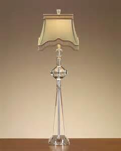 john richard 38 quot h stacked crystal buffet lamp jrl 7873