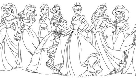 All Disney Princess Coloring Pages Pretty Coloring All All Disney Princesses Together Coloring Pages