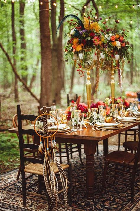 bohemian decorations how to host the bohemian chic outdoor dinner