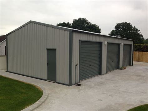 Steel Garages Ireland by Gallery Steel Sheds Garages And Steel Buildings