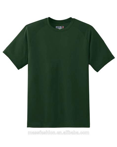 wholesale green t shirt plain army blank t shirt