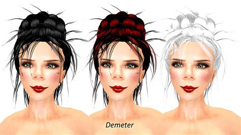 demeter hairstyle go dutch hair and a lot of pink cupcakes
