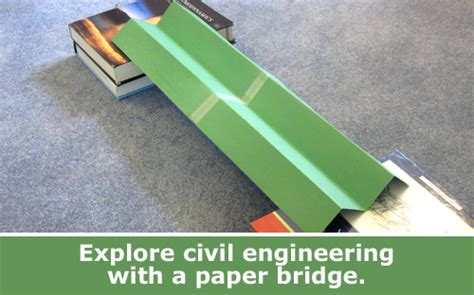 How To Make A Strong Paper Bridge - building paper bridges family science spotlight
