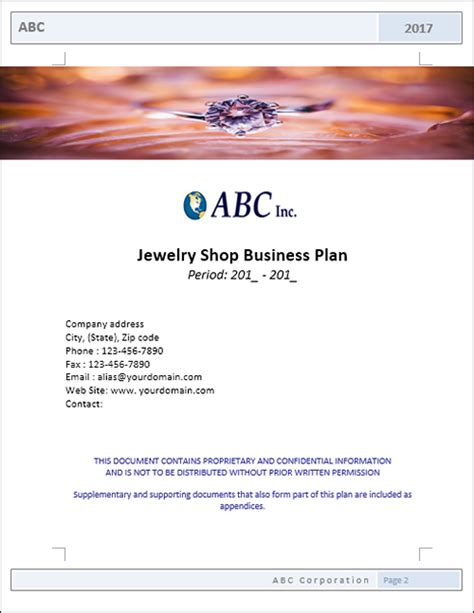 jewelry company business plan style guru fashion glitz