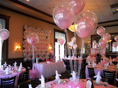 17 Best images about Pink Decoration Ideas for a Girl's Christening, Baby Shower, Naming