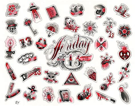 tattoo shops doing friday the 13th 25 best ideas about friday the 13th on