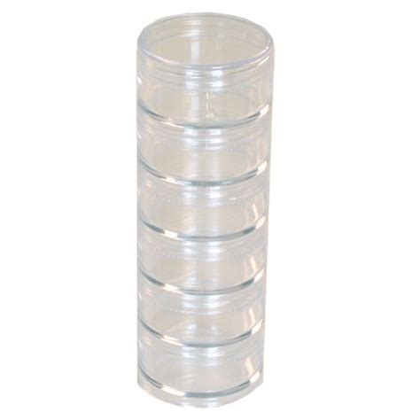plastic storage organizers storage stackable clear - Clear Stackable Storage Containers