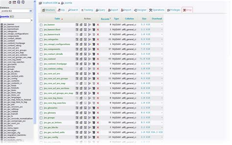 Sql List Tables by The List Of Database Tables Run Sql Query Table