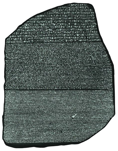 Rosetta Stone Egypt | rosetta stone ancient egypt photo 10821508 fanpop