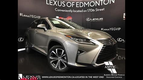 lexus rx 350 atomic silver 2017 atomic silver lexus rx 350 awd executive walkaround