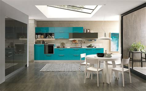 Cucine Pareti Colorate by Cucine Colorate Come Un Quadro Contemporaneo Cose Di Casa