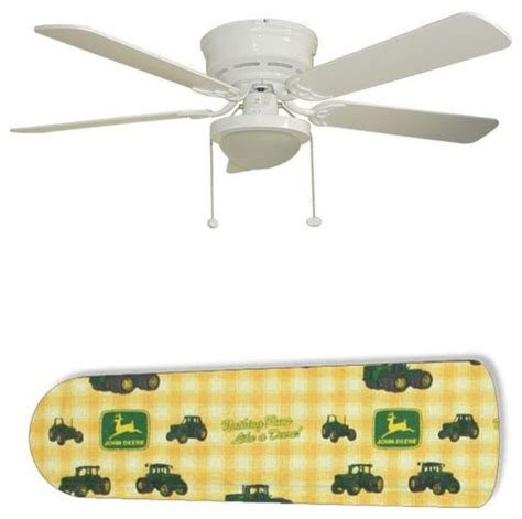 john deere ceiling fan classic john deere 52 quot ceiling fan with l